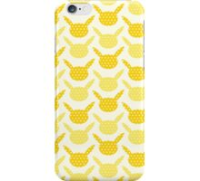 Yellow Pikachu pattern iPhone Case/Skin
