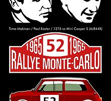 Mini Cooper Rallye Monte Carlo 1965 by car2oonz