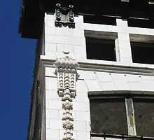 Bisbee Building: cornice and ornaments by Mike Shell