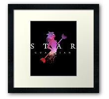 league of legends lux star guardian Framed Print