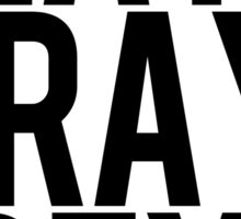 Eat, Pray, Greys. Sticker