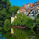 Höderlin Tower, Tübingen, Germany by L Lee McIntyre
