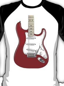 Fender Stratocaster RED T-Shirt