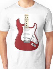 Fender Stratocaster RED Unisex T-Shirt