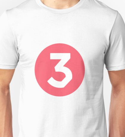 Chance the Rapper - 3 Unisex T-Shirt