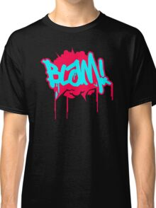 Blam Blam Comic Slogan Classic T-Shirt