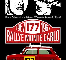 Mini Cooper Rallye Monte Carlo 1967 by car2oonz