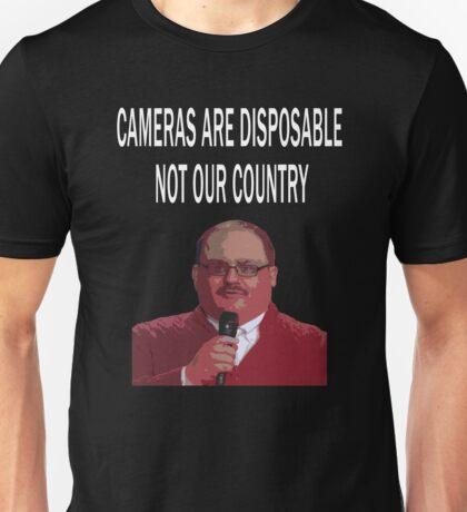 ken bone cameras are disposable Unisex T-Shirt