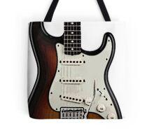Fender Stratocaster two tone tobacco  Tote Bag