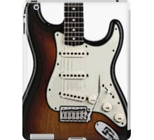 Fender Stratocaster two tone tobacco  iPad Case/Skin