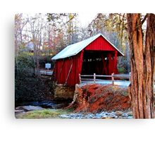 Campbell's Covered Bridge Canvas Print