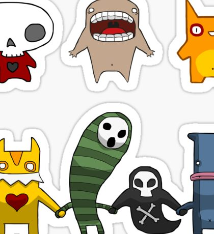 Monster Menagerie Sticker