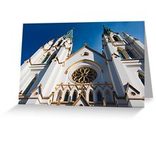 Cathedral Facade  Greeting Card