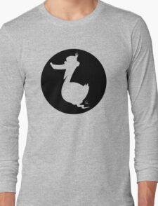 Walter -Circle Design Long Sleeve T-Shirt