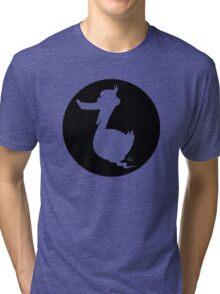 Walter -Circle Design Tri-blend T-Shirt