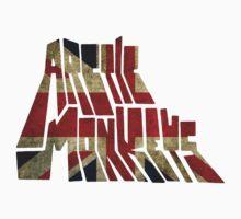 Arctic Monkeys - Union Jack T-Shirt