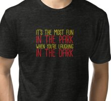 Are You Afraid of the Dark? Nickelodeon - Laughing in the Dark Tri-blend T-Shirt