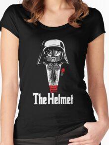 The Helmet-Godfather of the Dark Schwartz Women's Fitted Scoop T-Shirt