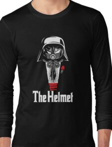 The Helmet-Godfather of the Dark Schwartz Long Sleeve T-Shirt