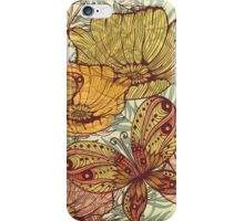 Butterflies retro iPhone Case/Skin