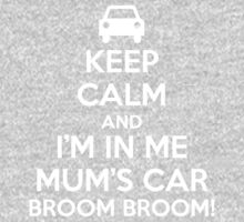 Keep Calm and I'm in Me Mum's Car! One Piece - Long Sleeve