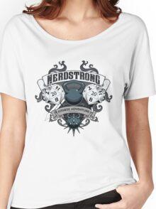 Nerdstrong Gym - Rollin' 20's Women's Relaxed Fit T-Shirt