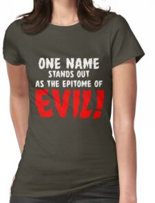 That name is DRACULA! Womens Fitted T-Shirt