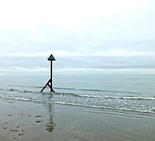 West Wittering Beach, Sussex by Ludwig Wagner