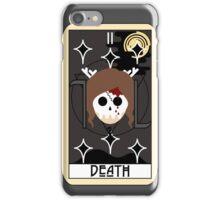 Death (Tarot Card II) iPhone Case/Skin