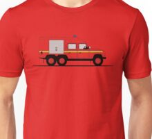 A Graphical Interpretation of the Defender 110 6X6 Fire Engine Unisex T-Shirt