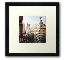 Gran Vía Framed Print