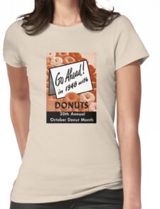 1948 Donut Month Womens Fitted T-Shirt