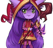 Lulu Chibi Sticker by hizzacked