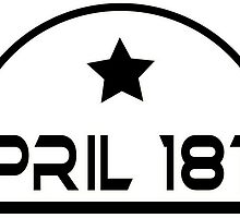 April 18th T shirt by Okse