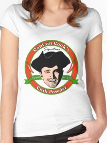 Captain Cook's Chili P Women's Fitted Scoop T-Shirt
