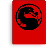 Mortal Dragon Canvas Print