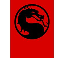 Mortal Dragon Photographic Print