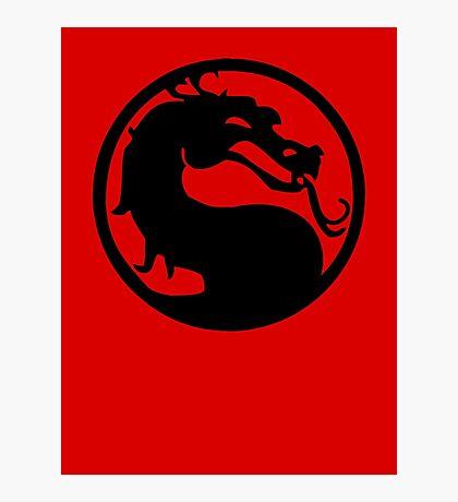Mortal Dragon Photographic Print