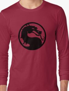 Mortal Dragon Long Sleeve T-Shirt