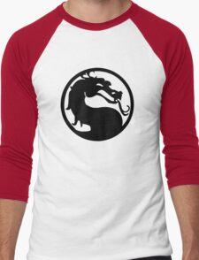 Mortal Dragon Men's Baseball ¾ T-Shirt