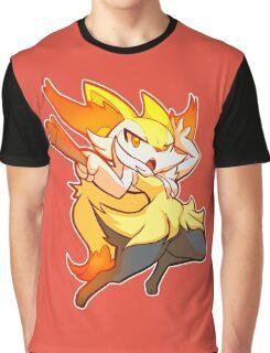 #654 - Braixen Graphic T-Shirt