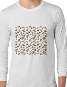 Mario Characters Long Sleeve T-Shirt
