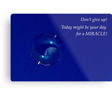Day for a Miracle Metal Print