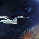 Starship Enterprise - from  Star Trek (TOS) by tusitalo