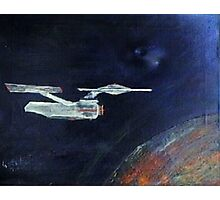 Starship Enterprise - from  Star Trek (TOS) Photographic Print