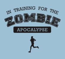 In Training For The Zombie Apocalypse Kids Clothes
