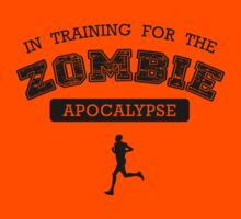 In Training For The Zombie Apocalypse by hypetees