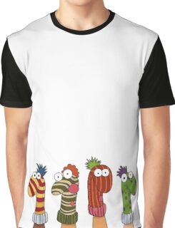 Sock Puppets Graphic T-Shirt