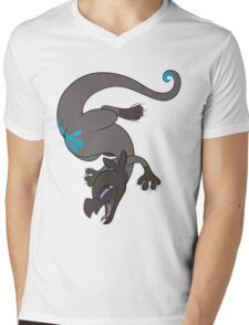 Salandit on my Shirt (Alternate Color) Mens V-Neck T-Shirt