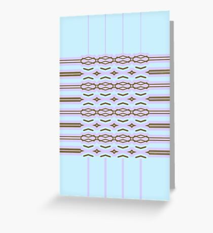 Shape It Cool Tones Greeting Card
